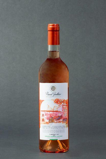 Vin rosé Pascal Gonthier