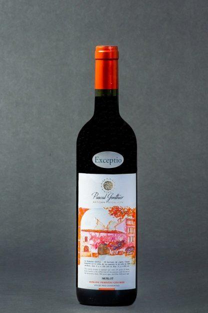 Vin Pascal Gonthier Domaine Pierrière Gonthier rouge 2012